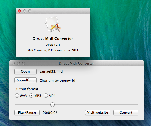 MP3 to MIDI converter Android Apps